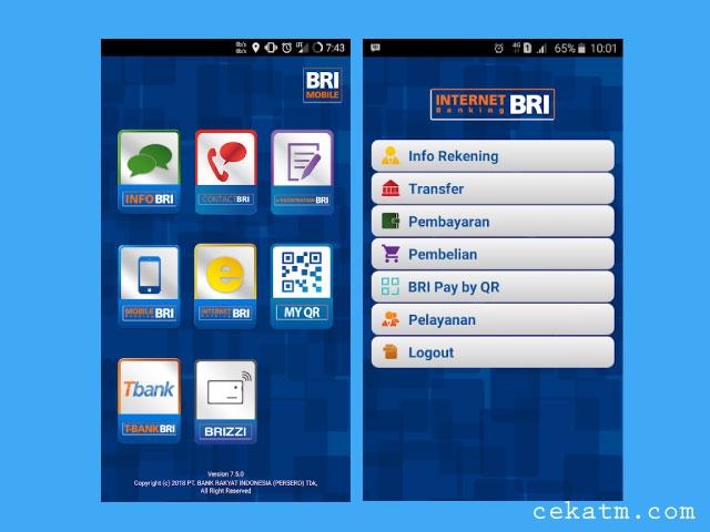 Cara Saldo BRI Lewat Mobile Banking