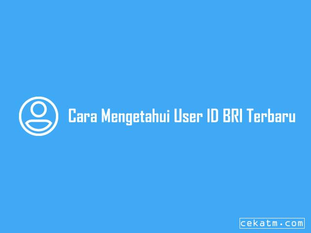 Cara Cek User ID BRI