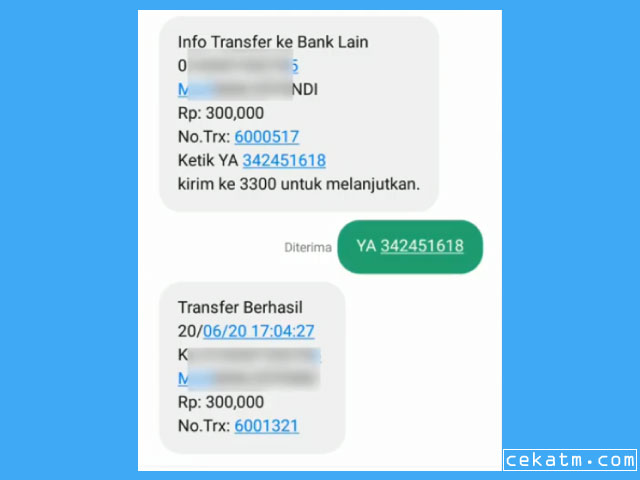 Cara Cek Mutasi BRI Lewat SMS Banking