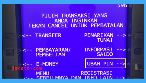 Cara Ganti PIN ATM BRI Lewat Kantor Cabang