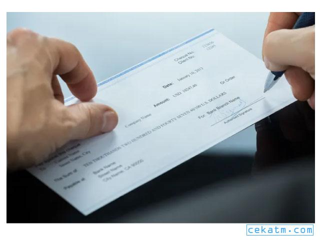 Cara Mencairkan Cek Di Bank BRI