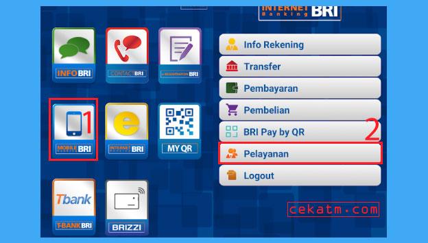 Cara Mengubah Pin ATM BRI Lewat Bri Mobile