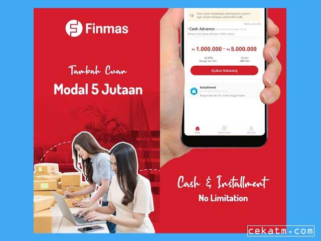 Finmas - Pinjaman Online Terpercaya Bunga Rendah
