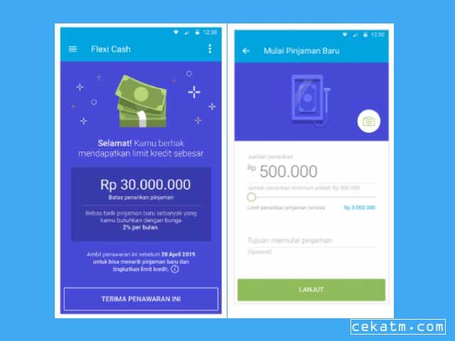 pinjaman online langsung cair ktp flexicash