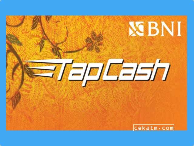Cara Top Up Tapcash BNI Lewat ATM