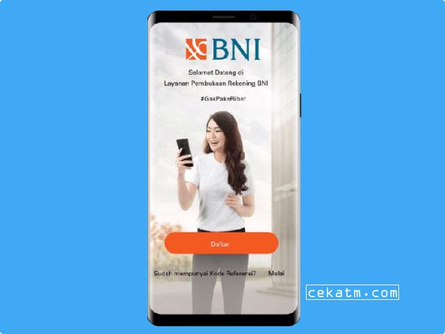 Cara Buka Rekening BNI Taplus Muda Online