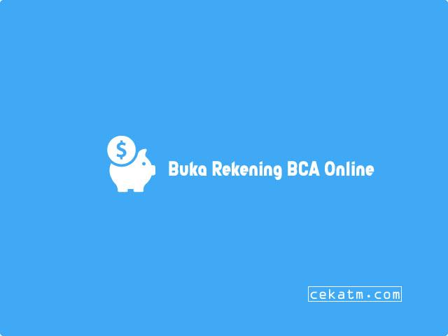 Buka Rekening BCA Online