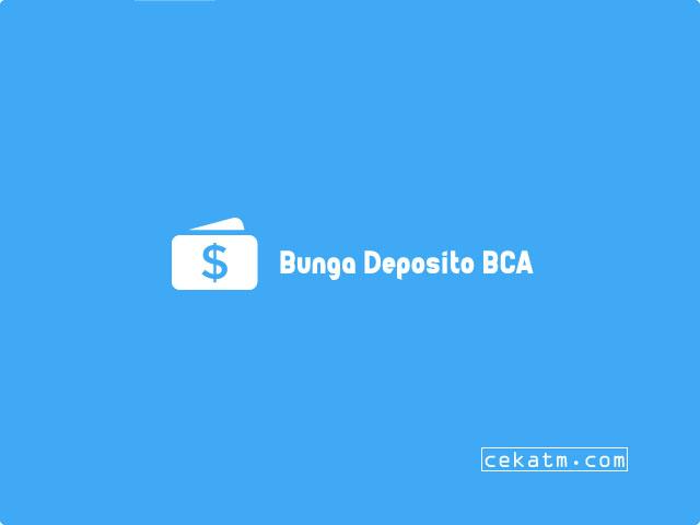 Deposito bca