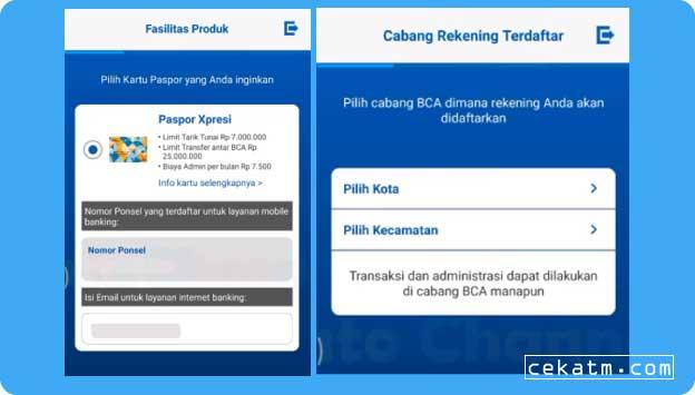 cara membuka rekening Bca online