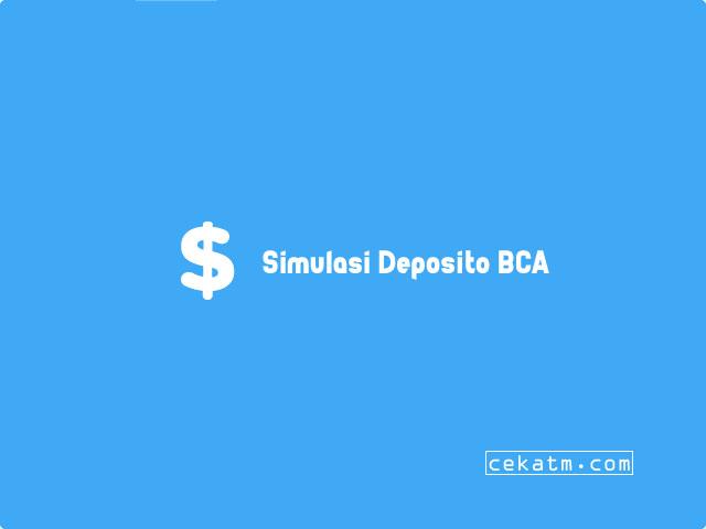 simulasi deposito bca