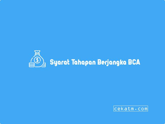 Syarat Tahapan Berjangka BCA