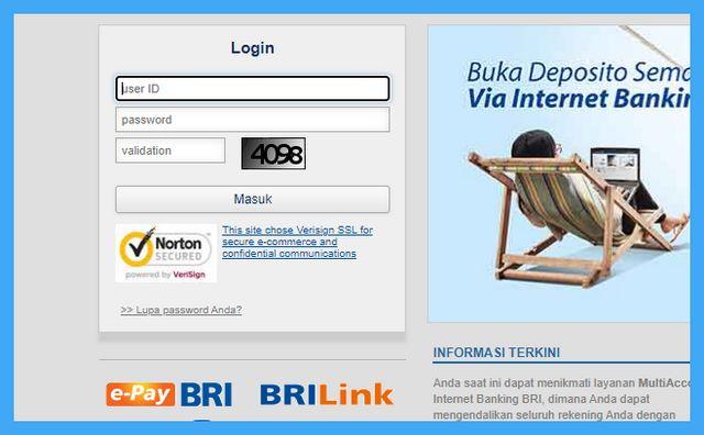 Cara Transfer Virtual Account BNI Lewat Internet Banking BRI