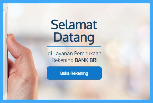 cara buka rekening bri online